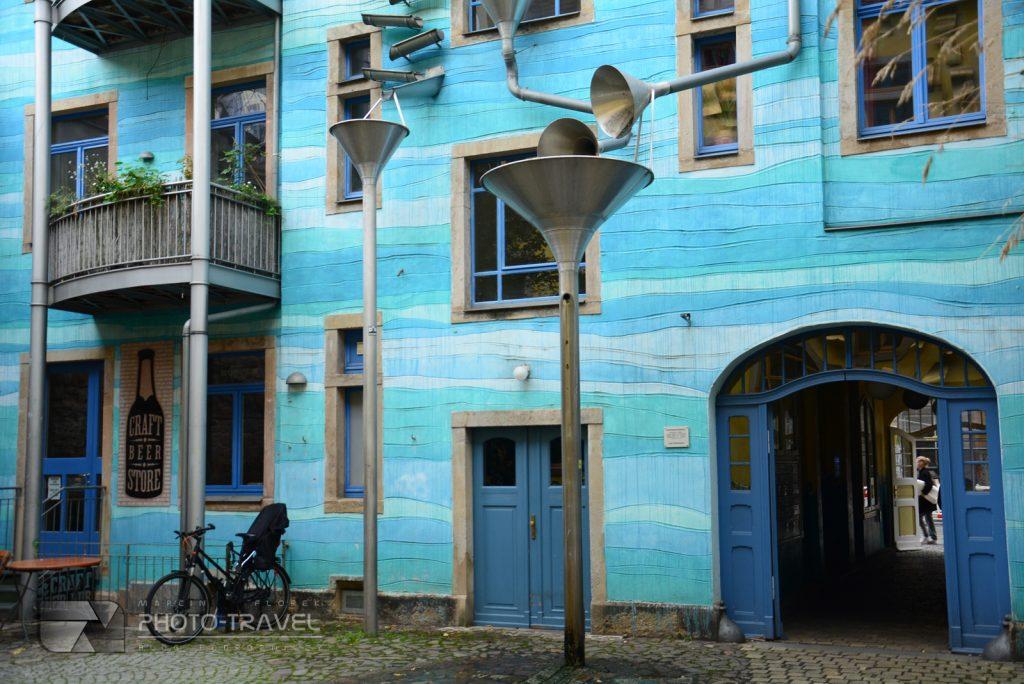 Neustadt - niebieski dom