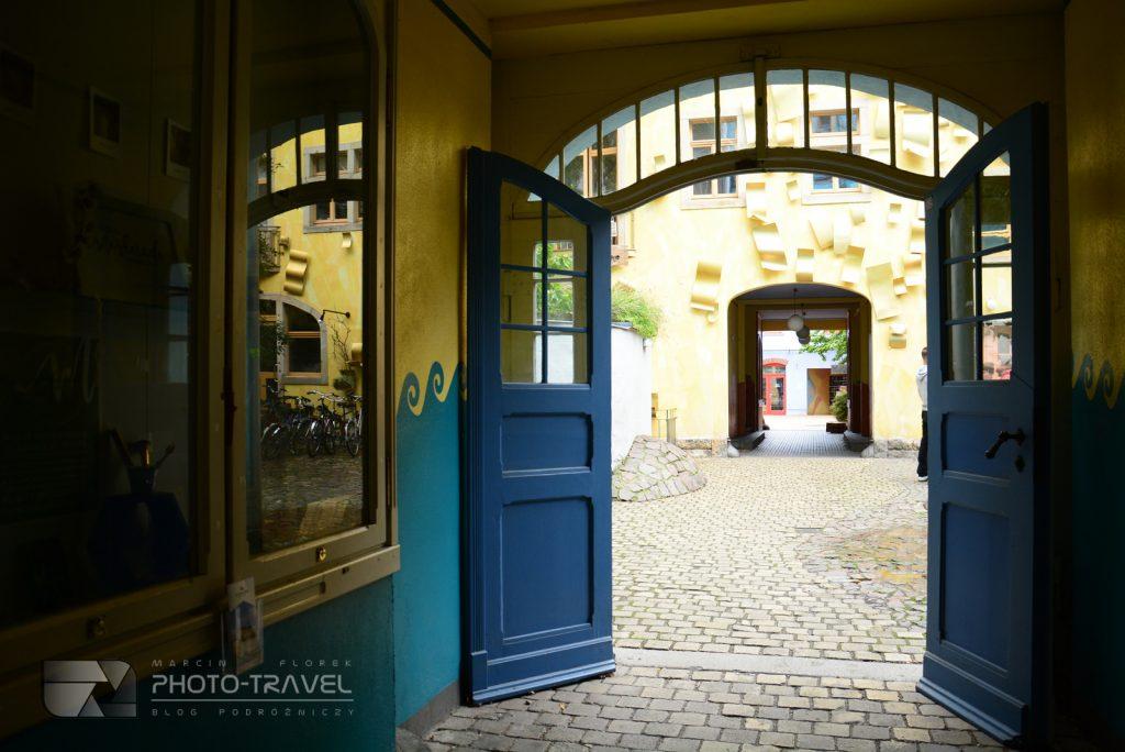 Neustadt - kolorowe kamienice