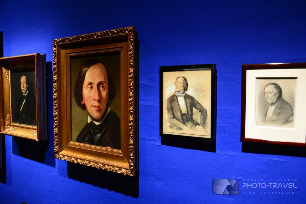 Muzeum Hansa Christiana Andersena - galeria obrazów Andersena