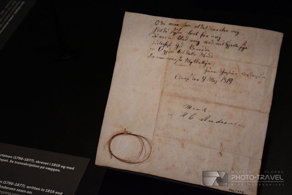 Rękopisy w Muzeum Andersena w Odense