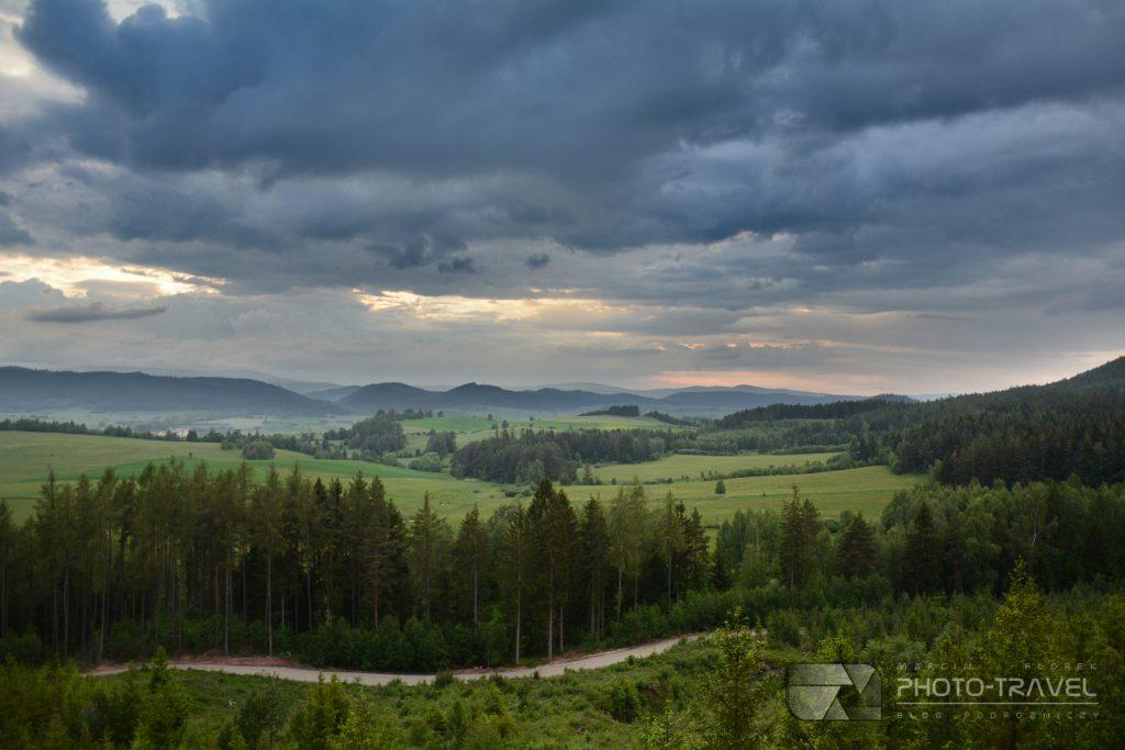 Taras widokowy w Chełmsku Śląskim
