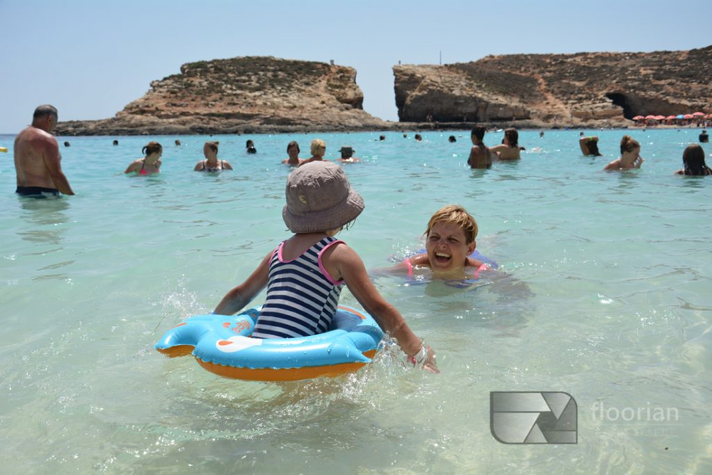 Blue Lagoon z dzieckiem