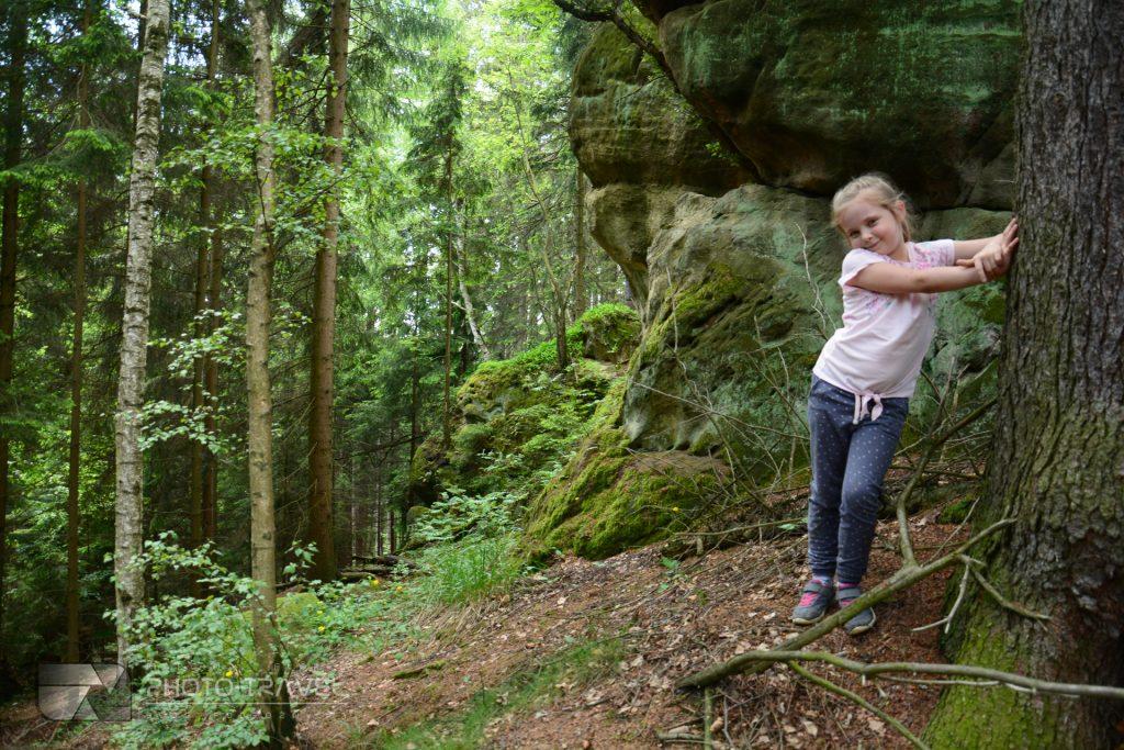 Ziemia kamiennogórska na weekend - Głazy Krasnoludków