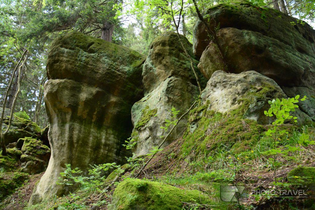 Głazy Krasnoludków w Gorzeszowie - Ziemia kamiennogórska na weekend - atrakcje turystyczne