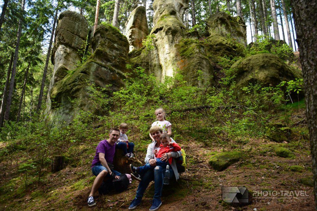 Gorzeszowskie skałki z dziećmi