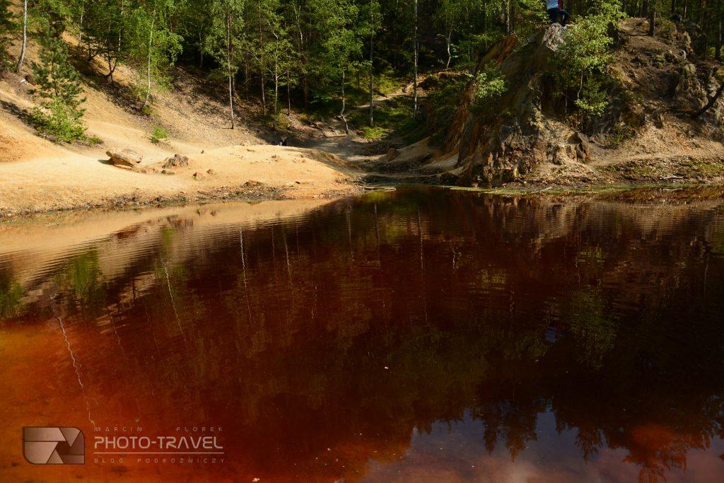 Ziemia kamiennogórska na weekend - Kolorowe Jeziorka w Rudawach Janowickich - Żółte Jeziorko