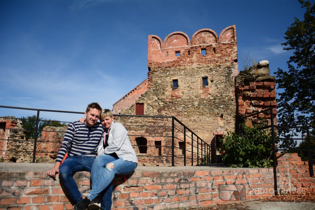Ząbkowice Śląskie - atrakcje Ząbkowic Śląskich - Ruiny zamku w Ząbkowicach Śląskich