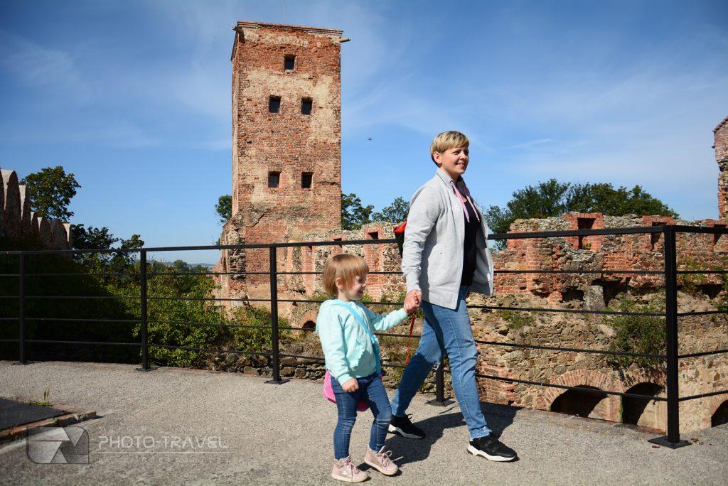 Ząbkowice Śląskie - ruiny zamku
