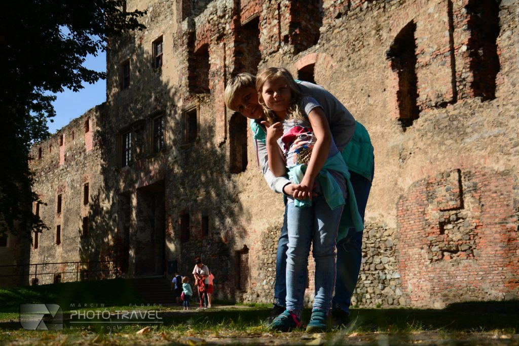 atrakcje Ząbkowic Śląskich - Ruiny zamku w Ząbkowicach Śląskich