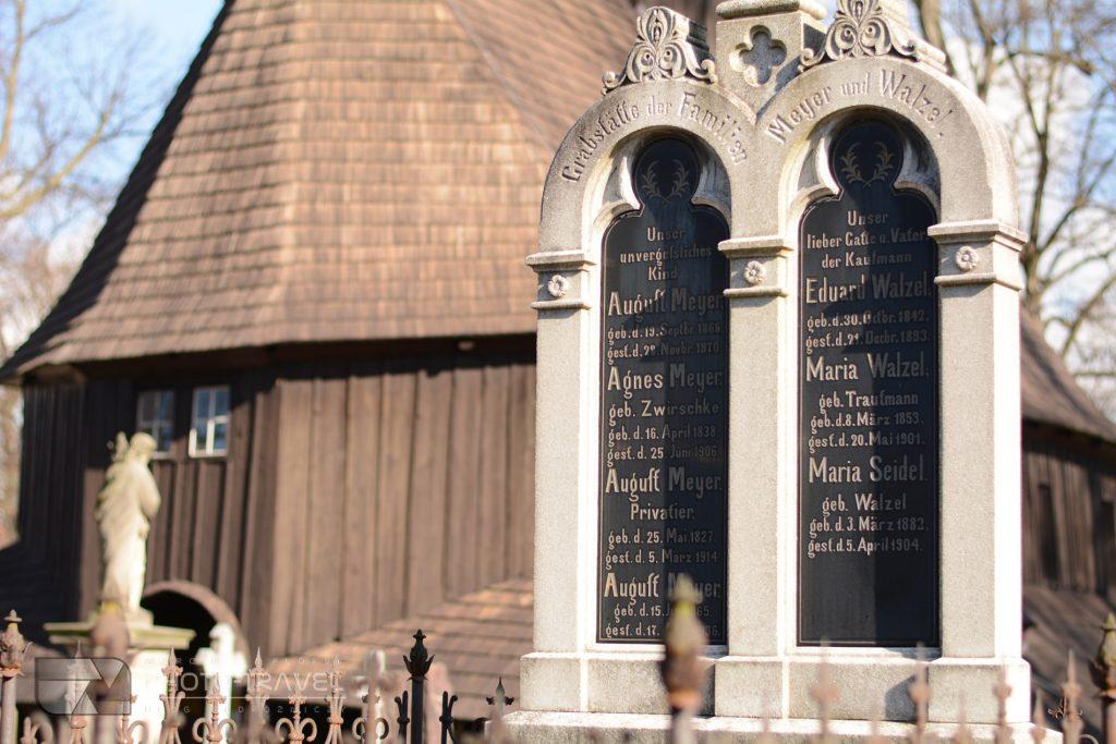 Broumov - Drewniany Kościół Najświętszej Marii Panny