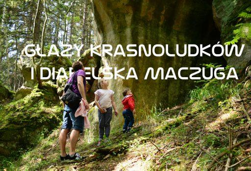 Głazy krasnoludków i Diabelska Maczuga w Gorzeszowie