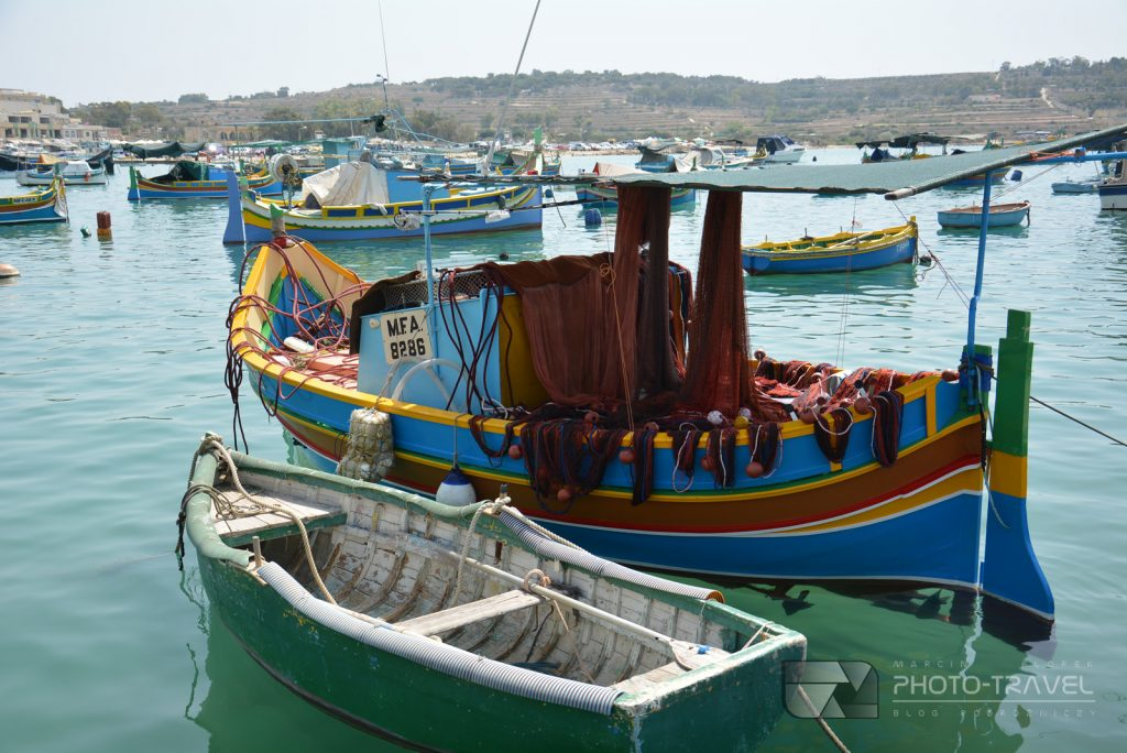 Port rybacki w Marsaxlokk na Malcie