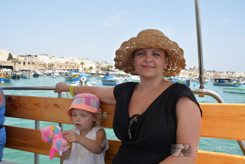 Wycieczka łódką w Marsaxlokk