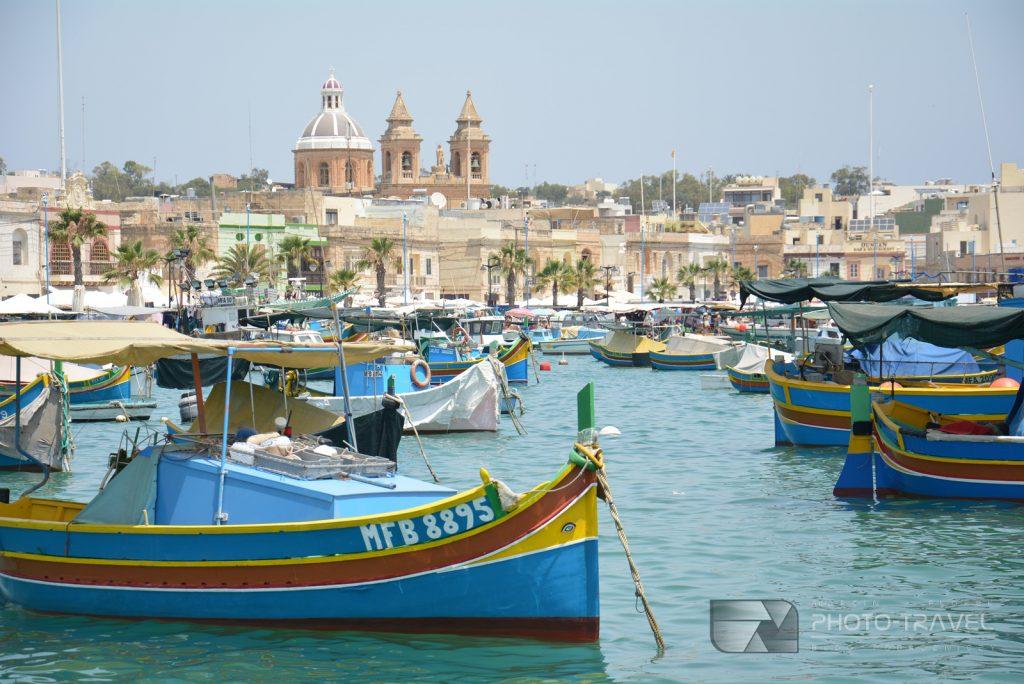 Marsaxlokk kolorowa wioska na Malcie