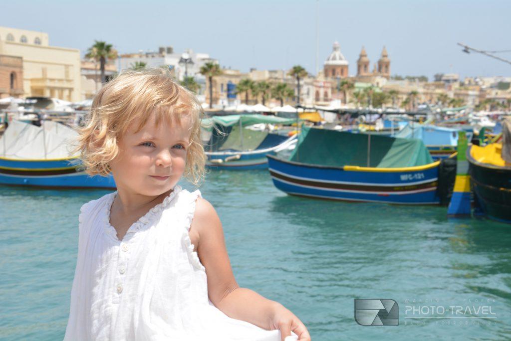 Malta z dziećmi