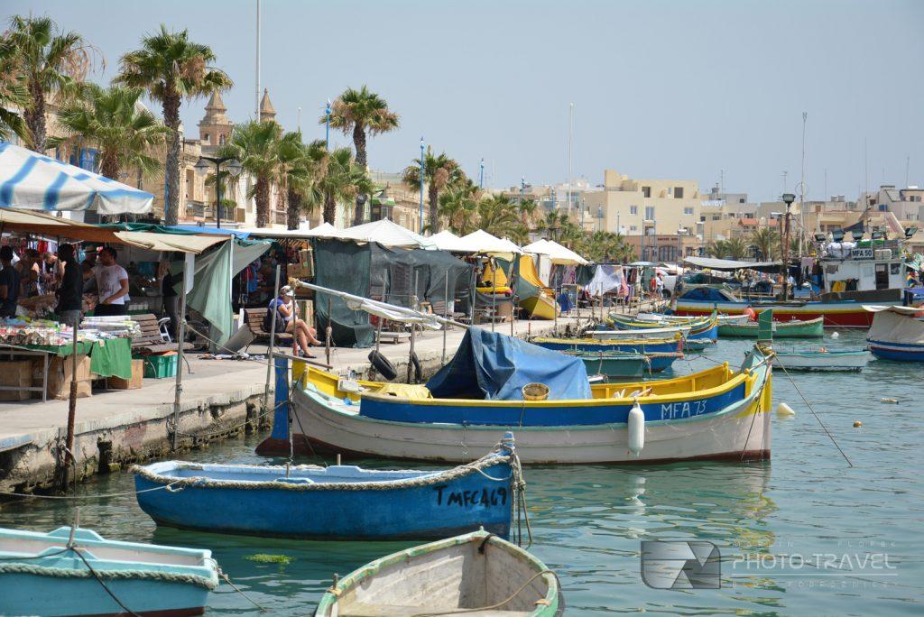 Wioska rybacka Marsaxlokk