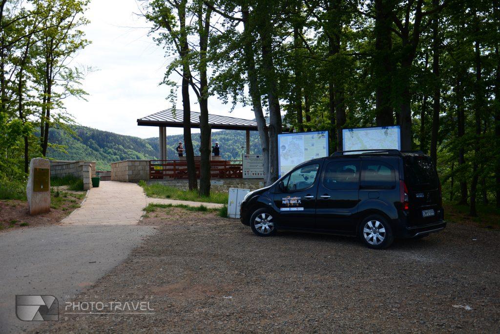Wieże widokowe na Dolnym Śląsku - Platforma widokowa w Radkowie