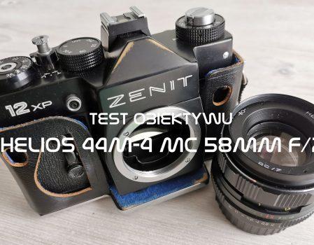 Test obiektywu Helios 44M-4 MC 58mm f/2