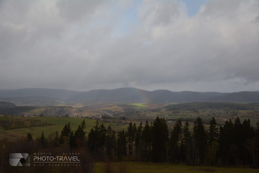 Wieże widokowe na Dolnym Śląsku - Wzgórza Włodzickie - Nowa Ruda