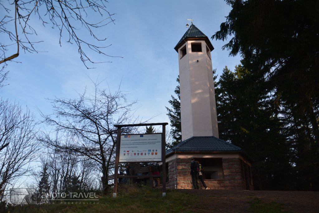 Wieże widokowe na Dolnym Śląsku - Wzgórza Włodzickie - Włodzicka Góra