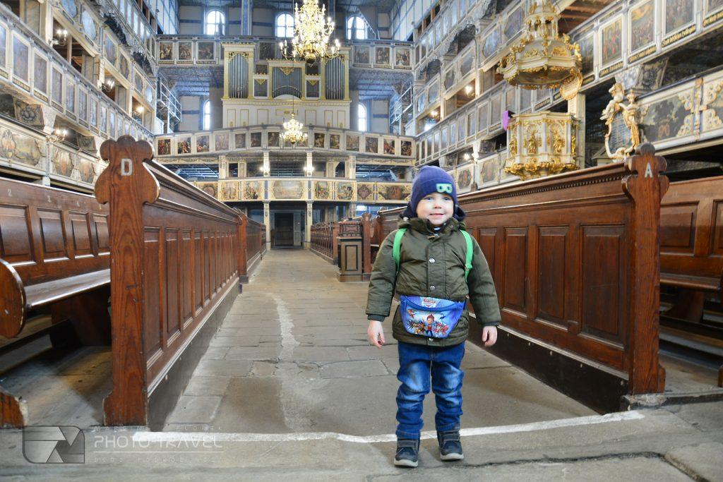 Kościoły Pokoju w Jaworze i Świdnicy z dziećmi