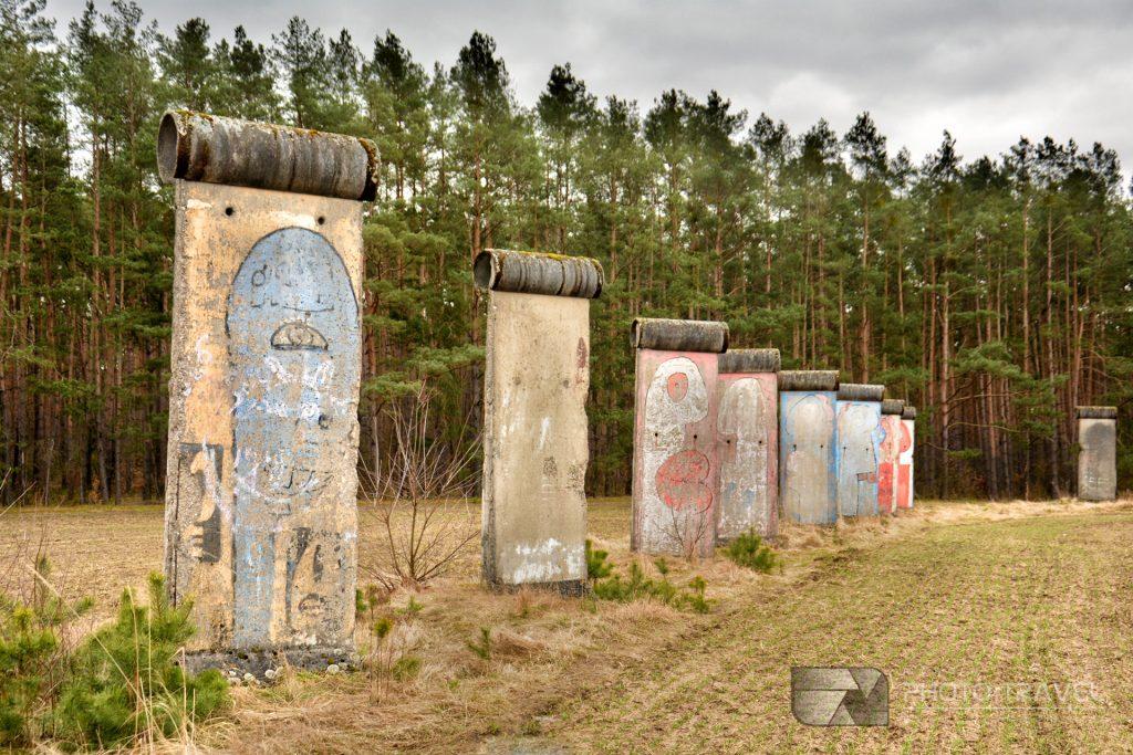 mur berliński w sosnówce na Dolnym Śląsku