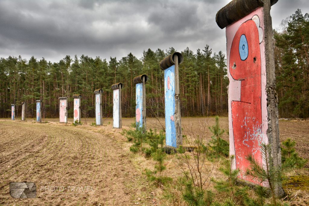 mur berliński w sosnówce dojazd