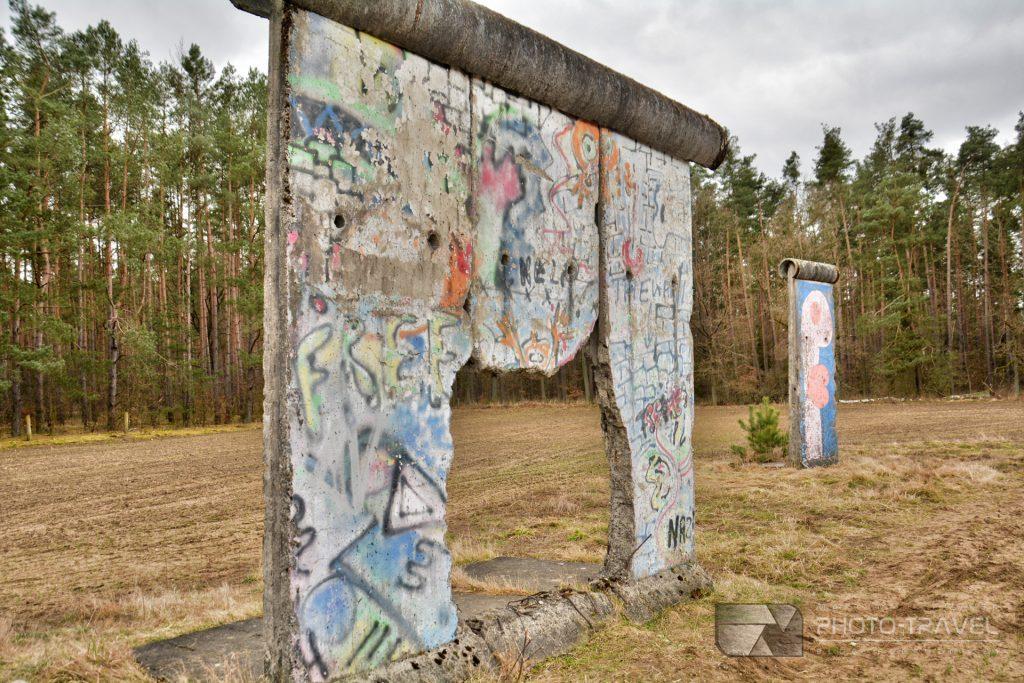 mur berliński koło Twardogóry