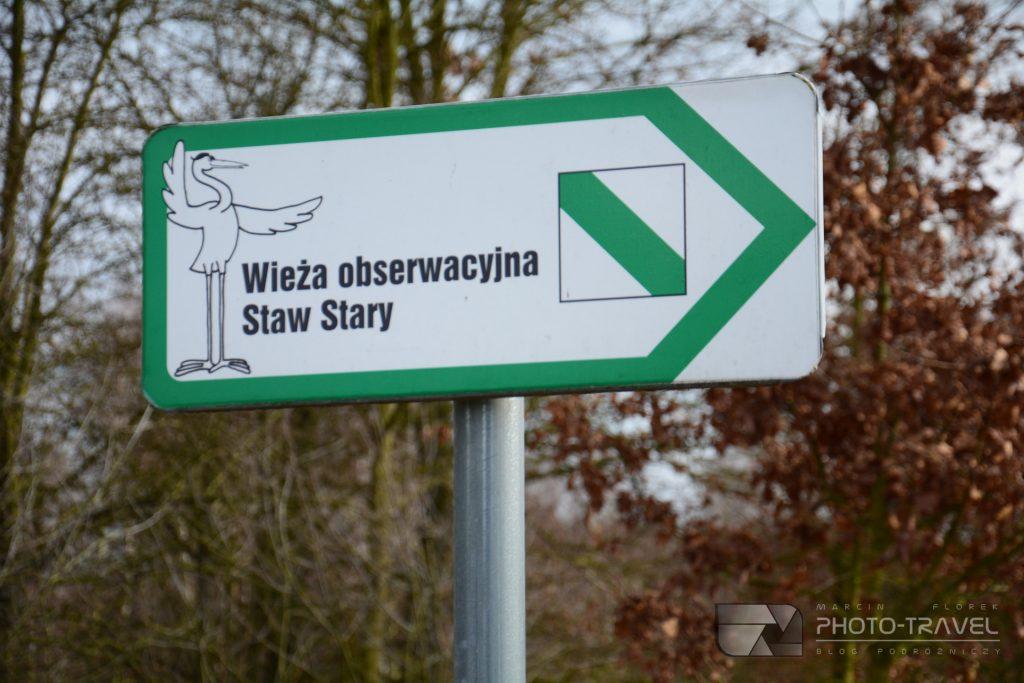 Staw Polny - Stawy Milickie - wieże, czatownie i punkty widokowe