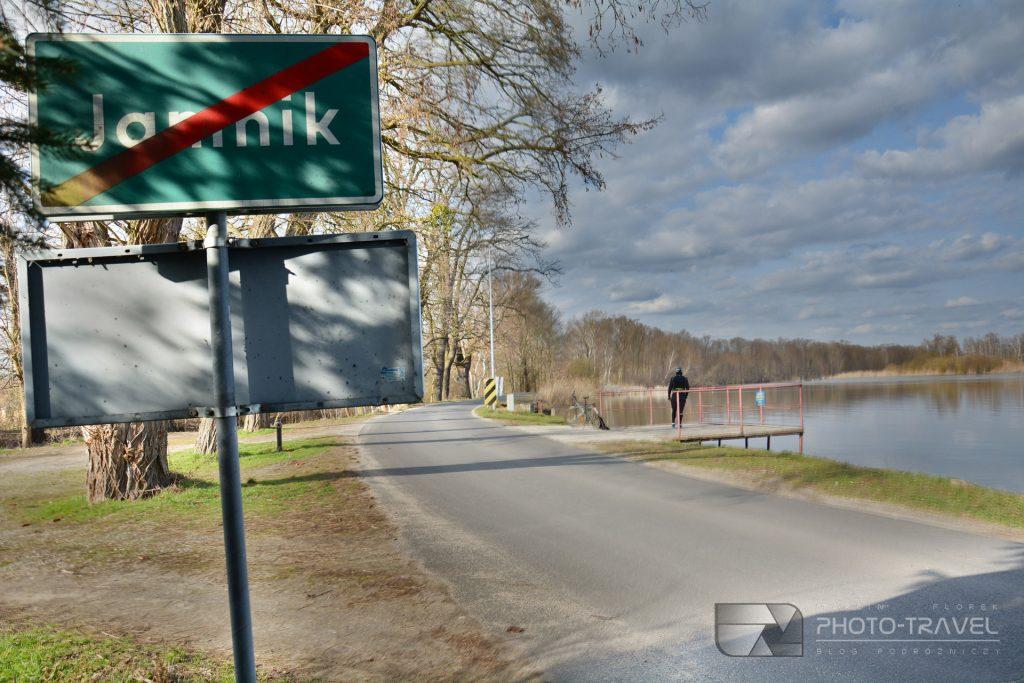 Staw Jamnik - punkt widokowy  Stawy Milickie - wieże, czatownie i punkty widokowe