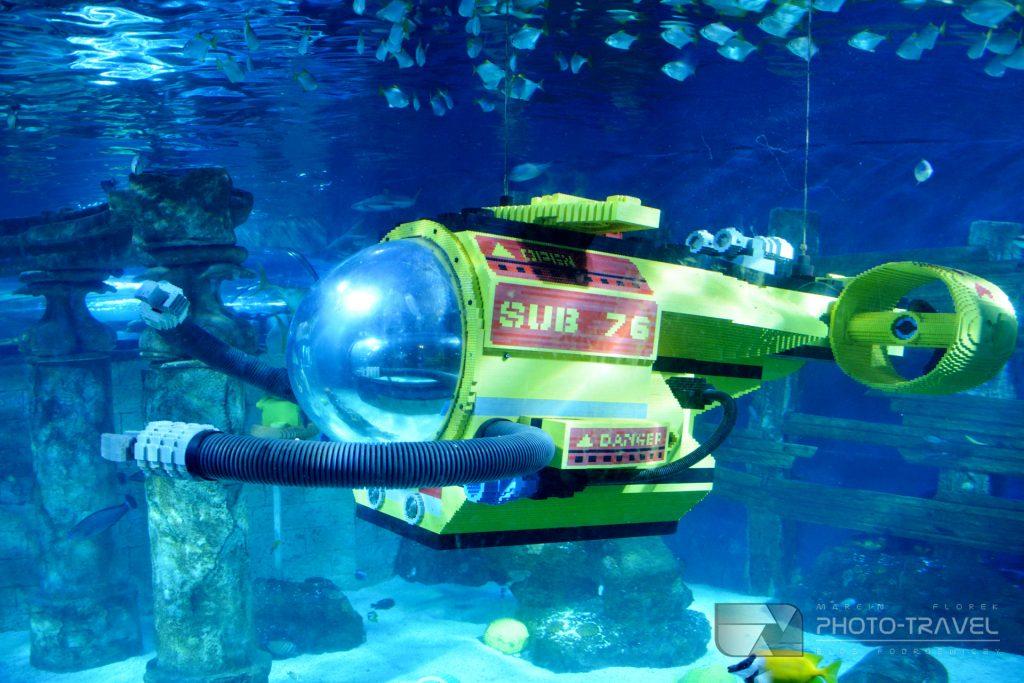 Legoland Dania aquarium