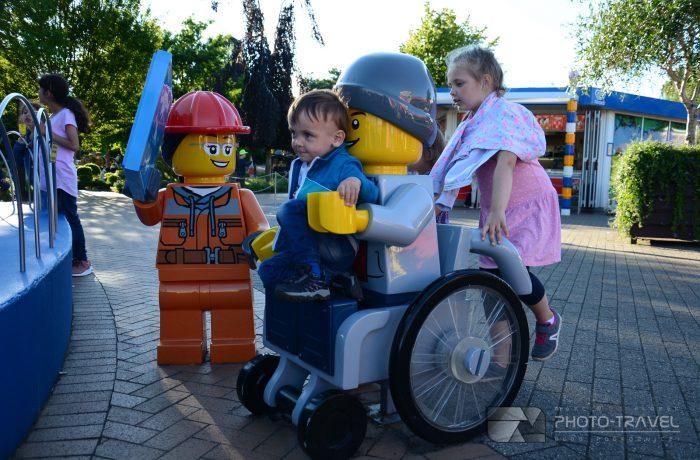 Legoland Dania - mapa parku