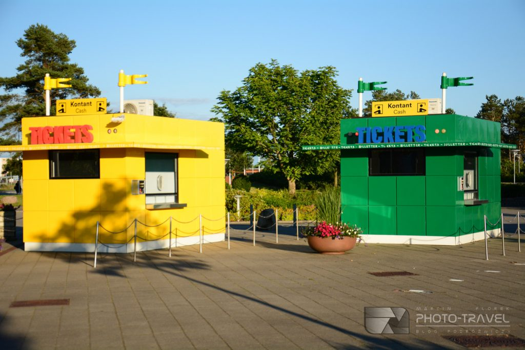 Kasy biletowe Legoland Dania