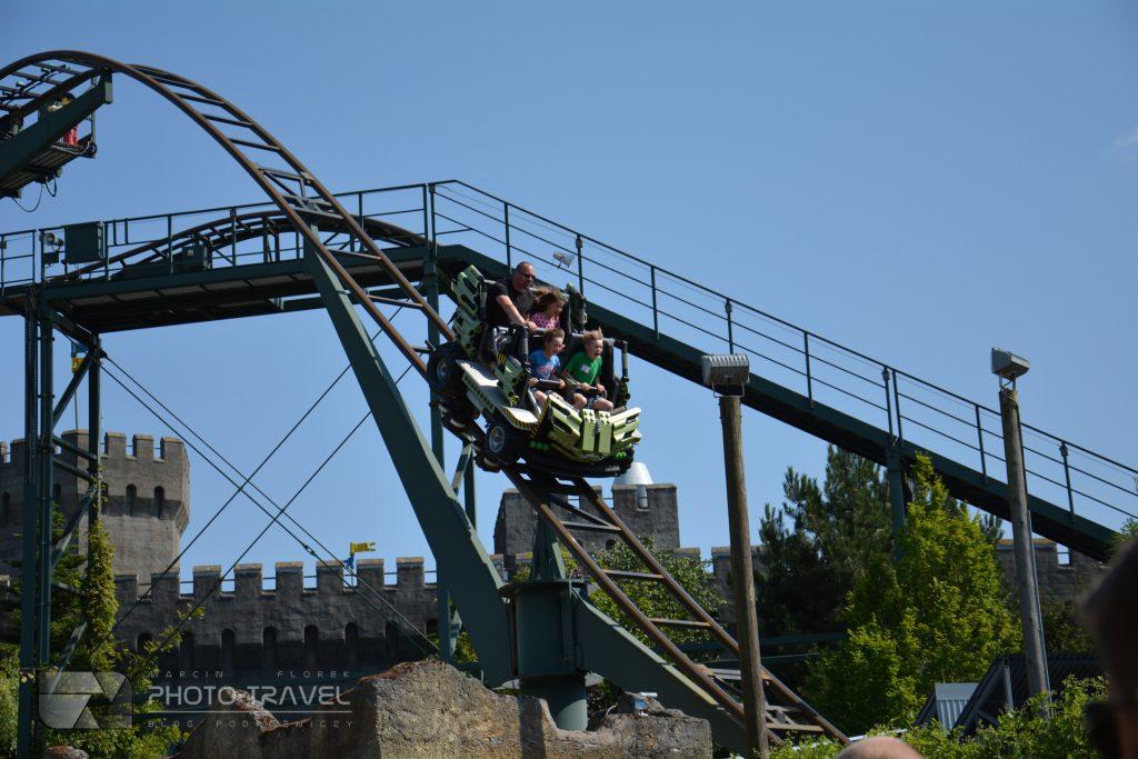 Legoland Dania -Rollercoster