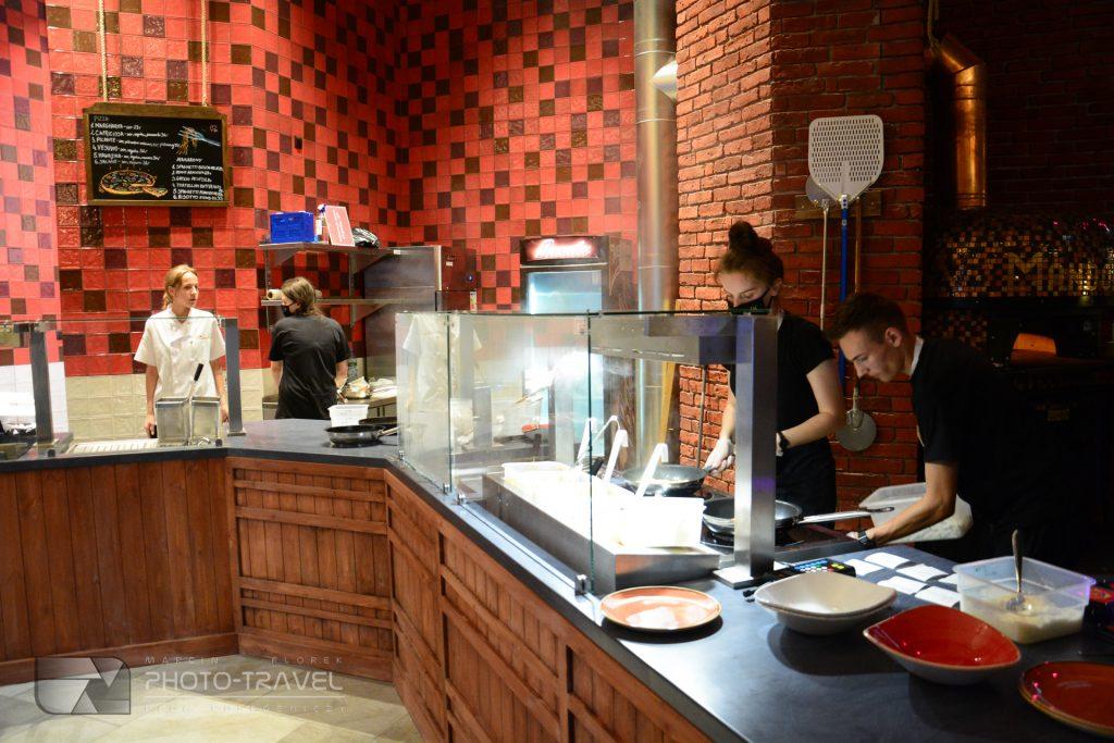 Pizzeria w Mandorii